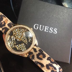 New Guess watch with box and tag. Never worn
